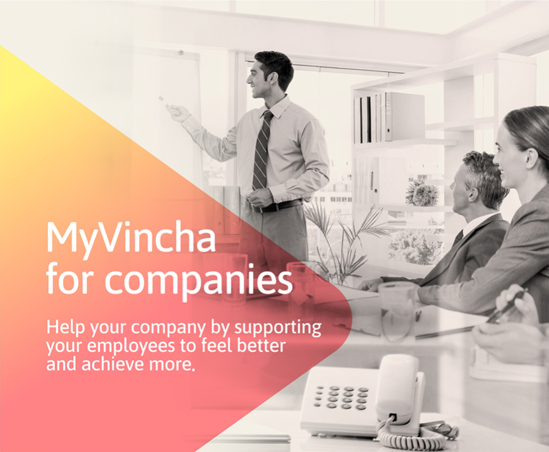 Help your company by supporting your employees to feel better and achieve more.